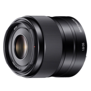 Sony SEL-35F18 E 35 mm F1.8 OSS Lens (Black)