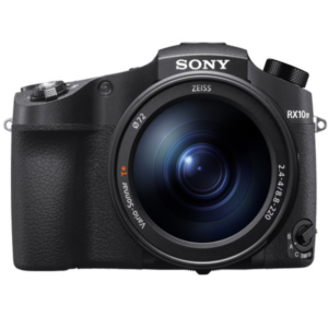 Sony CyberShot DSC-RX10M4 with 0.03 Seconds AF/ 25X optical zoom and 4K Digital Camera (Black)