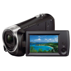 Sony HDR-CX405 Handycam with 9.2 MP and 60X optical zoom camcorder (Black)