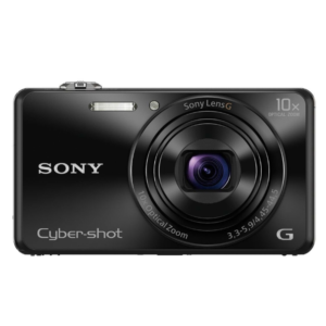 Sony CyberShot DSC-WX220 With 18.2 MP and 10X Optical Zoom (Black)