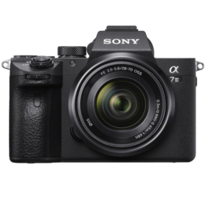 Sony Alpha ILCE-7M3K With 24.2 MP / WI-FI / NFC / 28-70MM LENS / 4K Mirrorless DSLR Camera (Black)