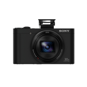 Sony CyberShot DSC-WX500 With 18.2 MP and 30X Optical Zoom (Black)