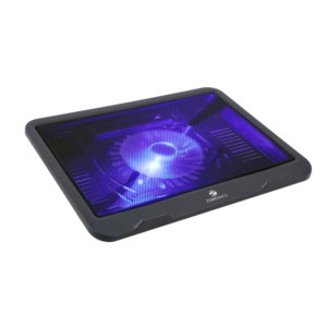 Zebronics ZEB-NC1100 Cooling Pad with USB and LED Blue Fan