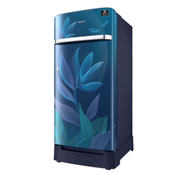 Samsung 198L Single Door Refrigerator (RR21T2H2X9U/HL, Paradise bloom blue)