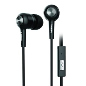 Philips SHE1515 Earphones with Mic (Black)