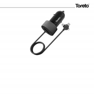 Toreto Rapid Charger 15 TOR-412 (Car Charger, Black)