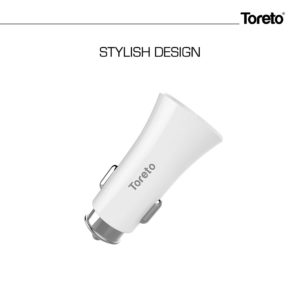 Toreto Rapid Charger 16 TOR-414 (Car Charger, White)