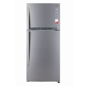LG 2 Star 437 Litres Frost Free Refrigerator ConvertiblePLUS Fridge with Inverter Linear Compressor ( GL-T432FDS2 , Dazzle Steel , Convertible )