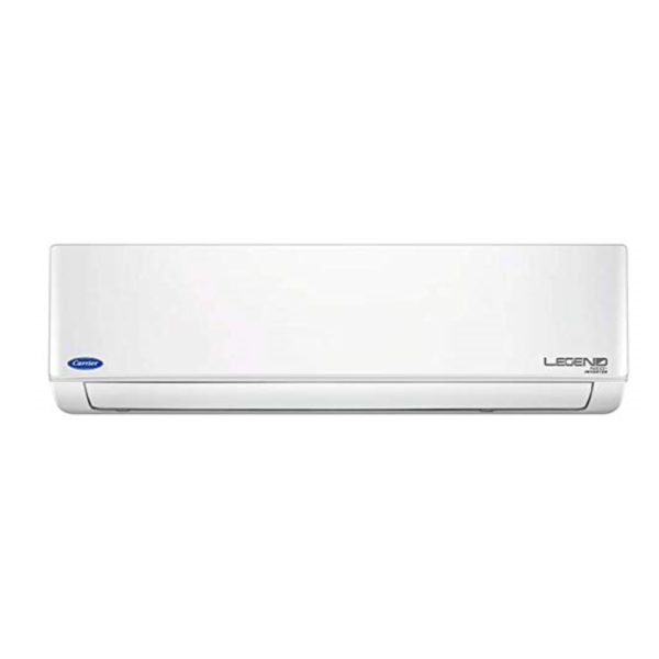 Carrier 1.5 Ton Inverter 3 Star Copper 2019 Range Legend Neo Plus Split AC (White)