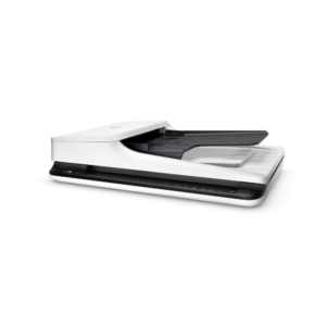 HP ScanJet Pro Flatbed + 20ppm + Duplex + ADF + 1,500 Pages/day Duty Cycle ( SJ 2500 f1 , White )