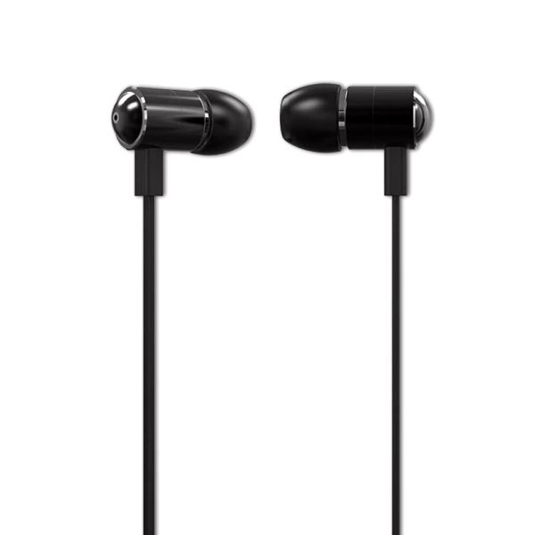 Ambrane Wired Headset With Mic (EP-20,Black)