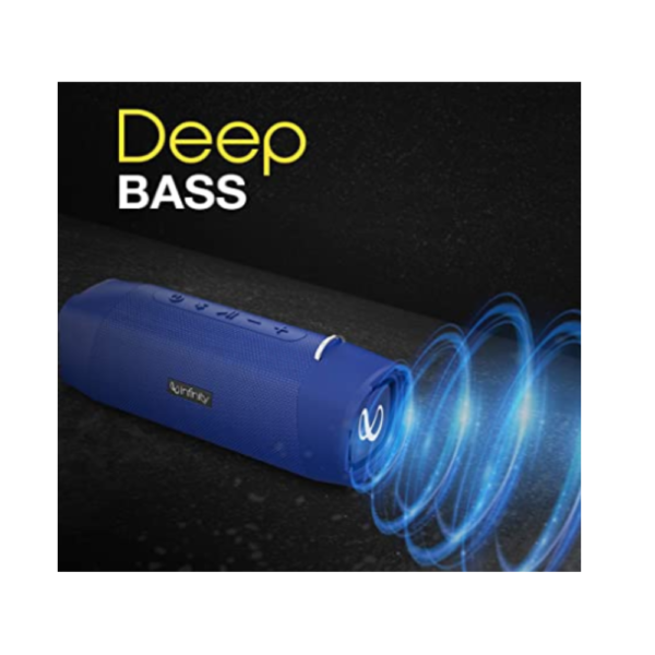 Infinity Portable Bluetooth Speaker (Clubz 750, Blue)