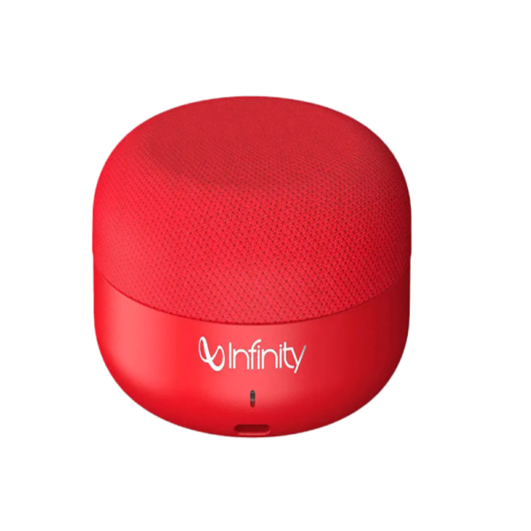 Infinity Portable Bluetooth Speaker ( Clubz Mini, Red)