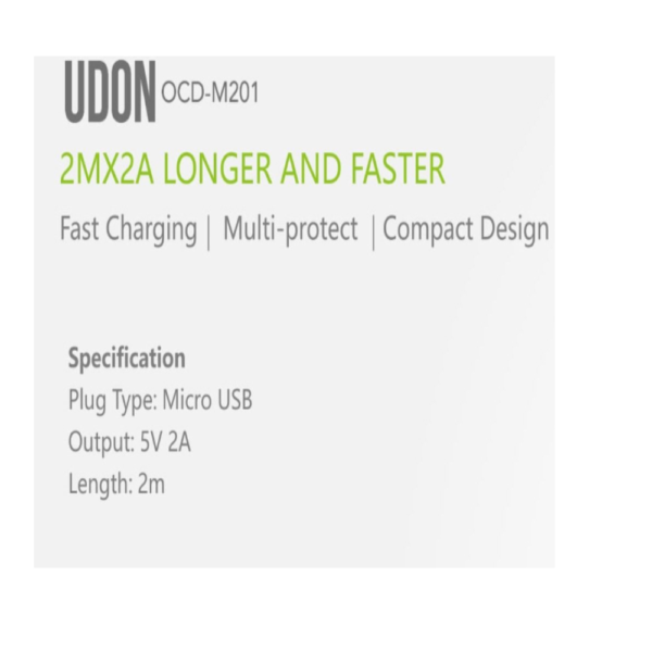 Oraimo Udon Longer&Faster Cable (OCD-M201,White)