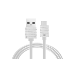 UltraProLink Zap USB Type-A to USB Type-C Cable (1.5M) (UL0059-0150, White)