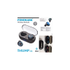 Fonokase Thump TWS Bluetooth Earbuds with ChaFonokase Thump TWS Bluetooth Earbuds with Charging Case (Black/Blue)rging Case (Black/Blue)