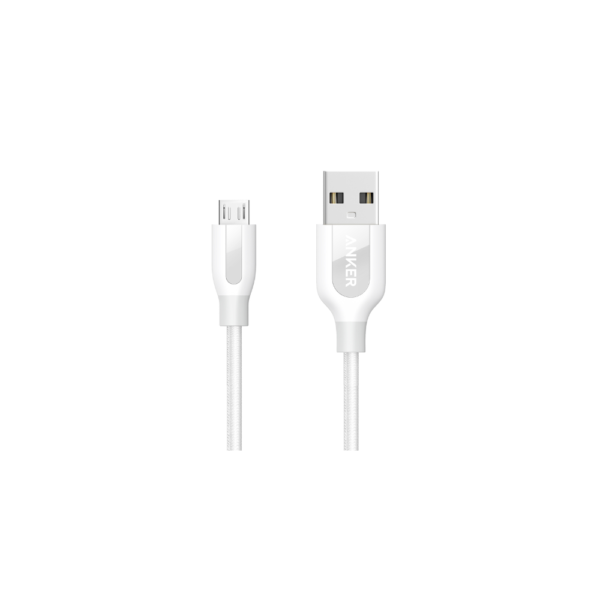 Anker PowerLine+ 1Meter (3ft) Micro USB Cable ( Gray)