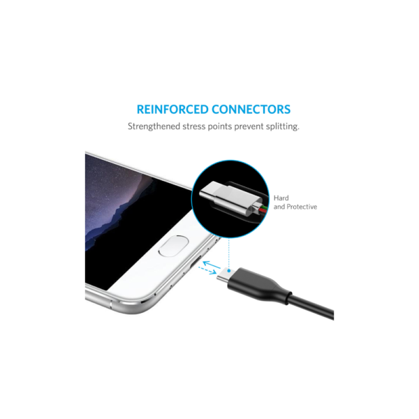 Anker PowerLine (3ft) USB-C to USB 3.0 Cable (Black)