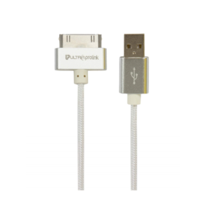 UltraProLink IDOCK USB Data & Charging Cable For Iphone 4/4S 1.5M (UL0042-150, White)