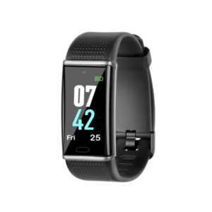 Ambrane Smart Fitness Band with Color Display & Heart Rate Monitor (AFB-38, Black)
