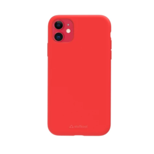 Stuffcool Silo Soft & Smooth Slimmest Back Case Cover for Apple iPhone 11 (Red)