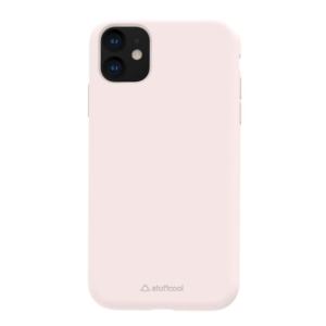 Stuffcool Silo Soft & Smooth Slimmest Back Case Cover for Apple iPhone 11 (Pink)