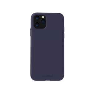 Stuffcool Slimmest Silo Soft & Smooth Case, Designed for Apple iPhone 11 Pro Case Cover 5.8″ Back Case (Navy Blue)