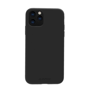 Stuffcool Silo Soft & Smooth Slimmest Back Case Cover for Apple iPhone 11 Pro Max 6.5″ (Black)
