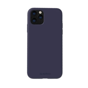 Stuffcool Silo Soft & Smooth Slimmest Back Case Cover for Apple iPhone 11 Pro Max 6.5″ (Navy Blue)