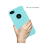 Stuffcool Soft Flexible TPU Armour Back Case Cover for Apple IPhone 7 (Mint)