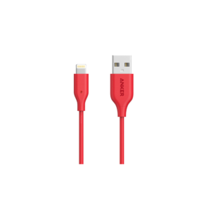 Anker PowerLine (3ft) Lightning Cable (Red)