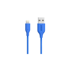 Anker PowerLine (3ft) Lightning Cable (Blue)