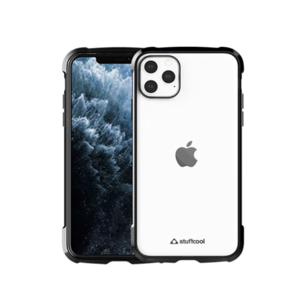 Stuffcool Shine Armour Soft Back Case Cover for Apple iPhone 11 Pro Max 6.5 (Black)