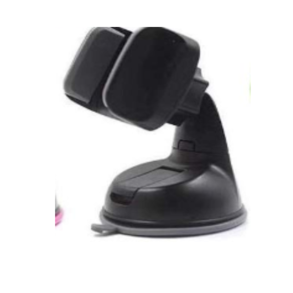 Fonokase Silicon Gripper Car Mount Mobile Holder (Black)