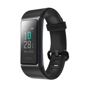 Play PlayFit 21 Smart Band With Button Touch and Color Display (Black)