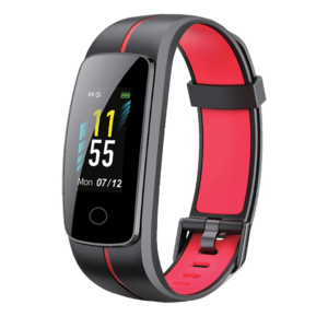 Play Play Fit 53 Smart Band With Full Touch Color Display (Red)