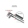 Stuffcool Finesse Sync & Charge Lightning Cable 1.2M (Grey)