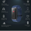 Play PlayFit 21 Smart Band, Button Touch, Color Display (Blue)