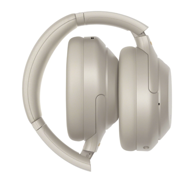 Sony WH-1000XM4 Wireless Bluetooth Headphones With Noise Cancelling and Mic (Silver)