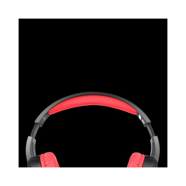 Zoook Stealth Wired Gaming Headphones with Mic and Dynamic sound (Red)