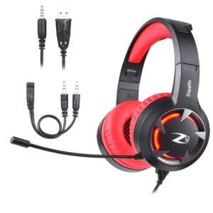 Zoook Stealth Wired Gaming Headphones with...
