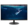 Lenovo D27-20 65F5KAC1IN 27 Inch Monitor, IPS, Full-HD, 75Hz, VGA, HDMI, Audio Out (Black)
