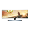 Lenovo Legion Y44W-10 65EARAC1IN 43.4 Inch Gaming Monitor, UHD, 4K Ultra Wide Curved Borderless Display, HDR, VGA, HDMI, Audio Out, 144Hz, AMD Free Sync, Type-C Port (Black)