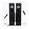 Zebronics ZEB-BT7300RUCF Tower Speaker with Remote Control and Mic (Black)