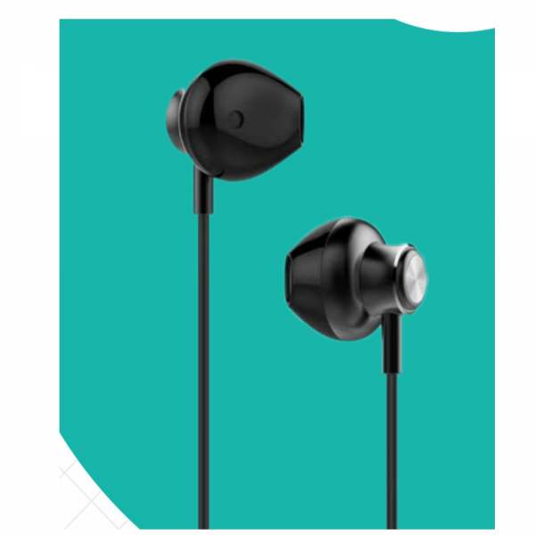 Hapi pola Wave Wired Headset with Mic (Black)