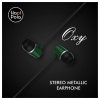 Hapi Pola Oxy Wired Headset with Mic (Black/Green)