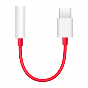 OnePlus Type-C to 3.5mm Adapter (Red)