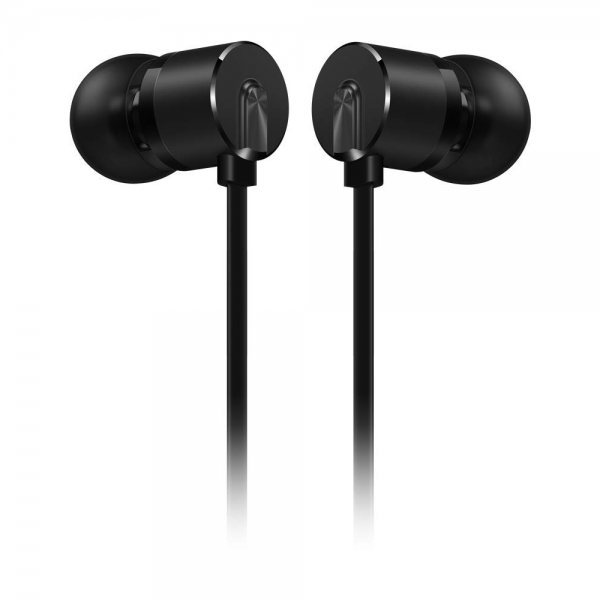 OnePlus Type-C Bullets Wired Earphones with Mic (In-Ear, Black)