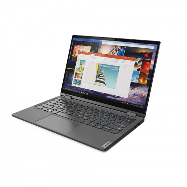 Lenovo 81UE0085IN Yoga C640 (Intel i5-10210U [10th Generation] / 8GB RAM / 512GB SSD / Windows 10 Home / MS Office H&S 2019 / 13.3 Inches FHD Display / Integrated GFX / IPS Touch / 1.35Kgs) Convertible Touch Laptop, Iron Grey