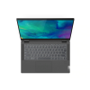 Lenovo 81X10085IN Flex 5i (Intel i5-1035G1 [10th Generation] / 8GB RAM / 512GB SSD / Windows 10 Home / MS Office H&S 2019 / 14 Inches FHD Display / IPS Touch / 1.5Kgs) Convertible Touch Laptop, Graphite Grey